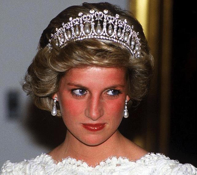 صورة الأمير ديانا - لغة الجسد
