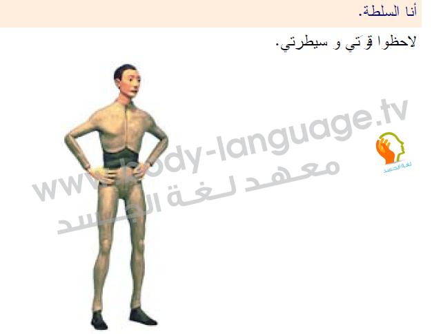 لغة الجسد بالصور