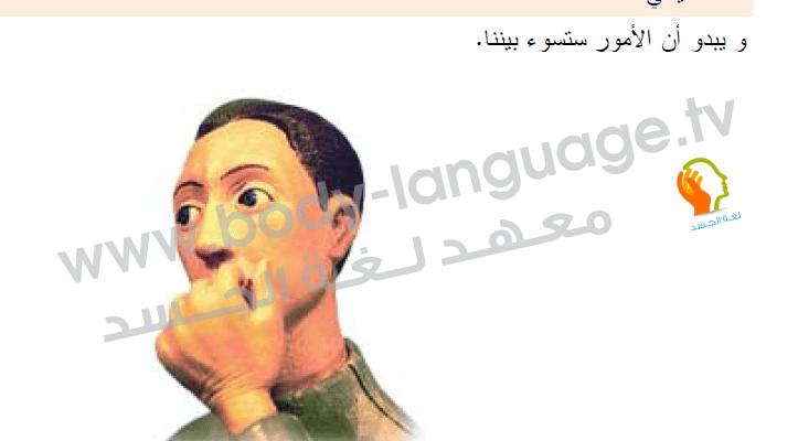 لغة الجسد بالصور - الفم