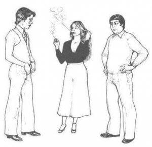 لغة الجسد في الحب عند الرجل و المرأة بالصور