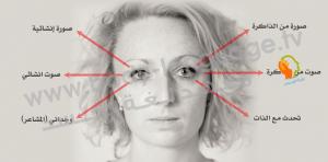 قراءة لغة العيون بالصور في علم لغة الجسد
