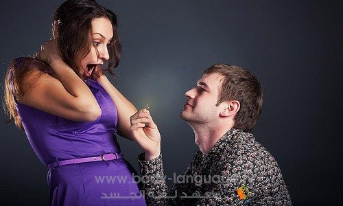 لفت الانتباه - لغة الجسد
